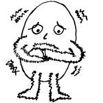 Das nackte Ei