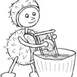Waschmittel auf Bäumen